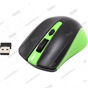 Мышь беспроводная Smartbuy ONE SBM-352 зеленая/черная