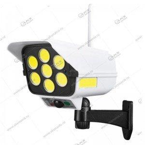 Автономный уличный светодиодный светильник YG-1576 с датчиком движения
