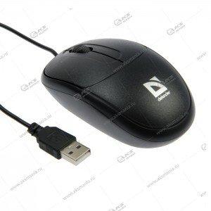 Мышь проводная Defender Datum MB-980 черный