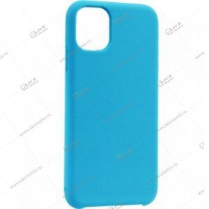 Silicone Case (Soft Touch) для iPhone 11 Pro светло-синий