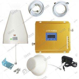 Усилитель GSM сигнала SBF04 3bands 900/1800/2100mhz (полный комплект)