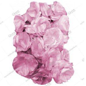 """Гирлянда """"Цветы"""" большие силиконовый провод розовые"""