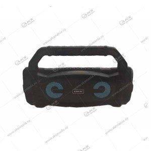 Колонка портативная BKK B99 BT/AUX/TF/FM+караоке микрофон черный