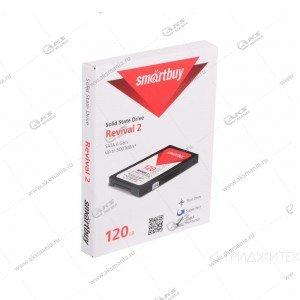 Внутренний накопитель SSD SmartBuy 120GB Revival 3, SATA-III, R/W- 550/4500 MB/s Phison PS3111-S11T