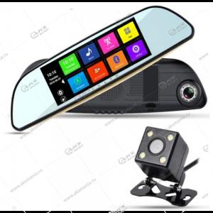 Зеркало-видеорегистратор XPX ZX829 с задней камерой