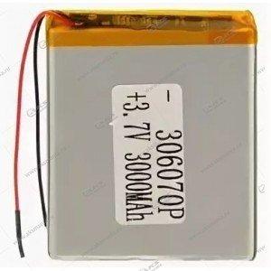 Аккумулятор универсальный 306070 3000mAh литий-ионный