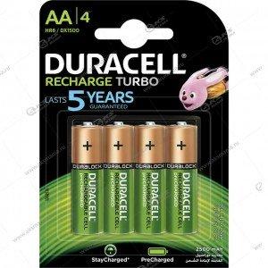 Элемент питания аккумулятор Duracell R6 (AA) 2500 mAh/4BL
