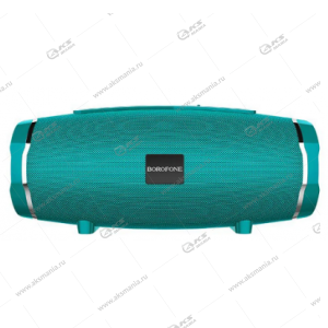 Колонка портативная Borofone BR3 Rich sound sports мятный