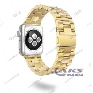 Ремешок Apple Watch 38-40mm металлический золото