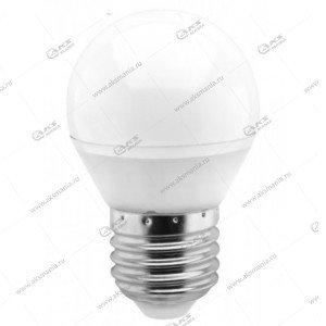 Лампа светодиодная Smartbuy G45-5W-220V-3000K-E27 (глоб, белый свет)
