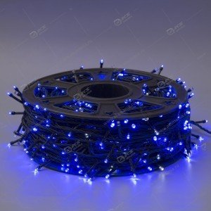 Гирлянда уличная 500LED 50м на бобине круглый диод синий