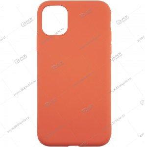 Silicone Case для iPhone 11 Pro Max персиковый