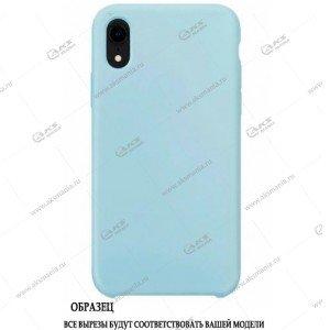 Silicone Case для iPhone 11 Pro Max нежно-голубой