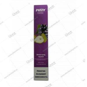Электронная одноразовая сигарета Fizzy Coronka 2% 800 затяжек Виноград-груша