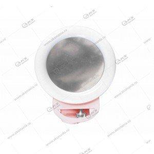 Вспышка-селфи для телефона RGB A4S розовый