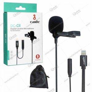 Микрофон Candc DC-C10 lightning для камер и телефонов