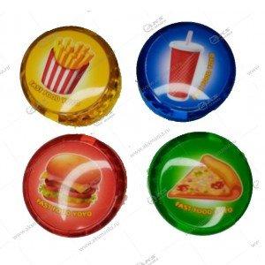 Игрушка Yo-Yo светящаяся разноцвет.