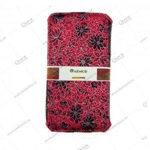 Книга Armor Samsung G530/J2 Prime розовый с цветами