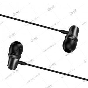Наушники Borofone BM29 Gratified universal с микрофоном чёрные