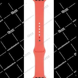 Ремешок силиконовый для Apple Watch 42mm/ 44mm коралловый