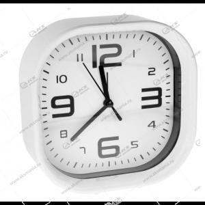 Часы 1001 будильник белый