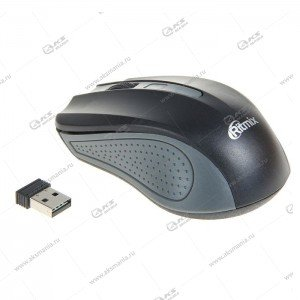 Мышь беспроводная RITMIX RMW-555, черно-серая