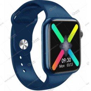 Smart Bracelet W98 Plus Шагомер Пульсометр синий