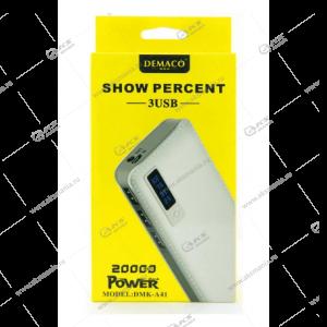Power Bank Demaco DMK-A41 20000mAh белый