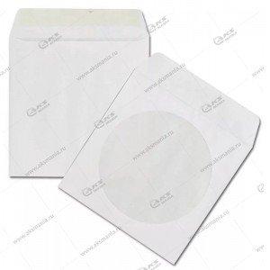 Конверт бумажный с окном