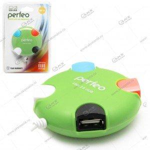 Hub Perfeo PF-VI-H020 зеленый
