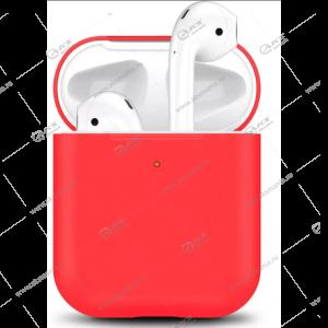 Силиконовый чехол для AirPods Case Protection красный