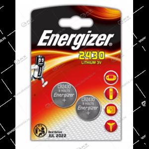 Элемент питания Energizer CR2430/2BL