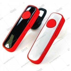 Bluetooth гарнитура CSR 4.1 красно-белый