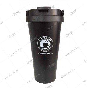 Термокружка Cofee CUP 500мл черный