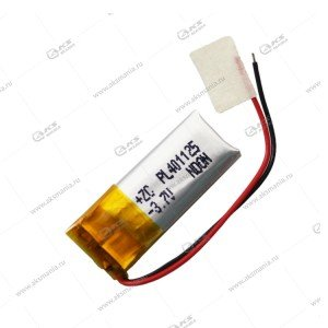 Аккумулятор универсальный 401125 100mAh литий-ионный