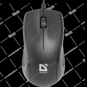 Мышь проводная Defender Optimum MB-160 черный