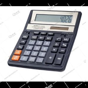 Калькулятор Perfeo PF_A4026, бухгалтерский, 12-разр., черный