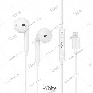 Наушники Hoco L9 Original series Lightning call digital headset белые