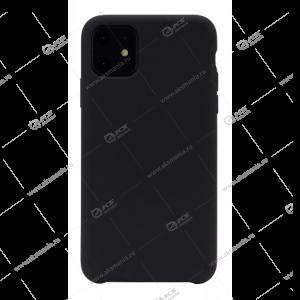 Silicone Case (Soft Touch) для iPhone X/XS черный