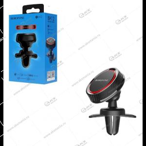 Автодержатель Borofone BH12 для телефона /на воздуховод/магнитный черно-красный