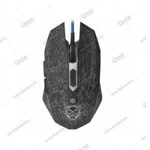 Мышь проводная игровая Defender Shock GM-110L черный
