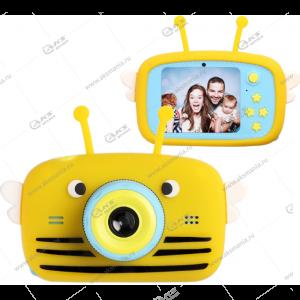 Детский фотоаппарат Zoo Kids Camera пчелка желтый