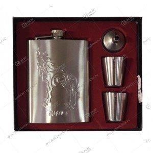 Подарочный Набор Moongrass DJH-1433-2 (Фляга, 2 рюмки)