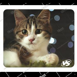 """Коврик для мышки VS """"Cat"""", Рис.7 (194*233*3 мм), полипропилен+вспененный пластик"""