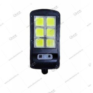Автономный уличный светодиодный светильник YG-1422 с датчиком движения+солнечная панель