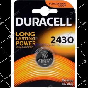 Элемент питания Duracell CR2430/1BL