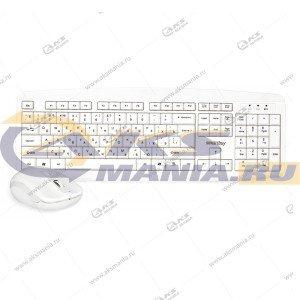 Клавиатура беспроводной набор Smartbuy SBC-212332AG-W белый