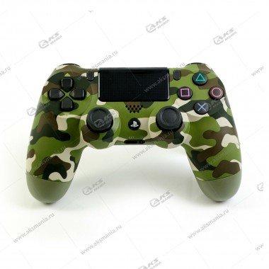 Gamepad PS4 Dualshock 4 wireless камуфляж зеленый