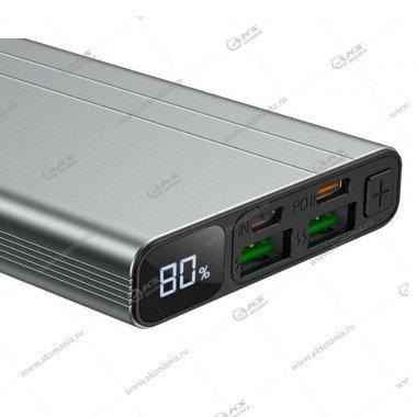 Power Bank Borofone BT34 Velocity PD + QC3.0 10000mAh черный