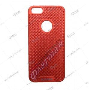 Пластик Samsung S8+ сетка красный